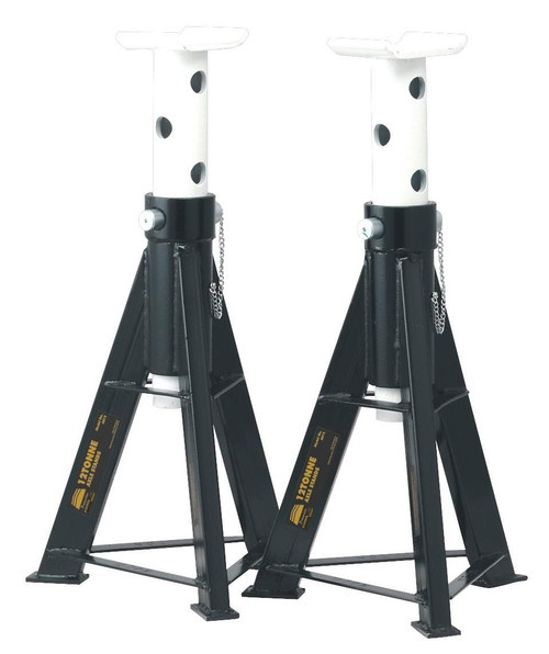 Buy Sealey AS12 Axle Stands 12tonne Capacity Per Stand 24tonne Per Pair at Toolstop