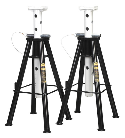 Buy Sealey AS10H Axle Stands 10tonne Capacity Per Stand 20tonne Per Pair High Lift at Toolstop