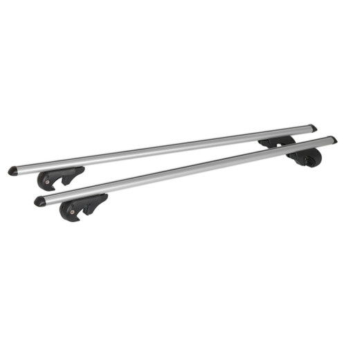 Buy Sealey ARB135 Aluminium Roof Bars 1350mm For Traditional Roof Rails 90kg Max Load at Toolstop