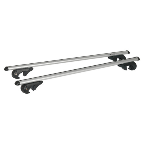 Buy Sealey ARB120 Aluminium Roof Bars 1200mm For Traditional Roof Rails 90kg Max Load at Toolstop