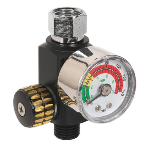 Buy Sealey AR01 On-Gun Air Pressure Regulator/Gauge at Toolstop
