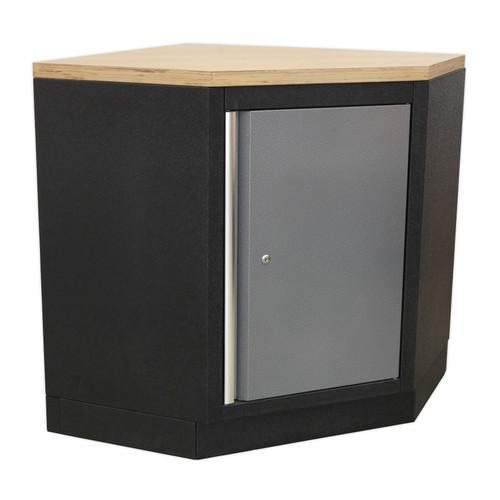 Buy Sealey APMS60 Modular Corner Floor Cabinet 865mm at Toolstop