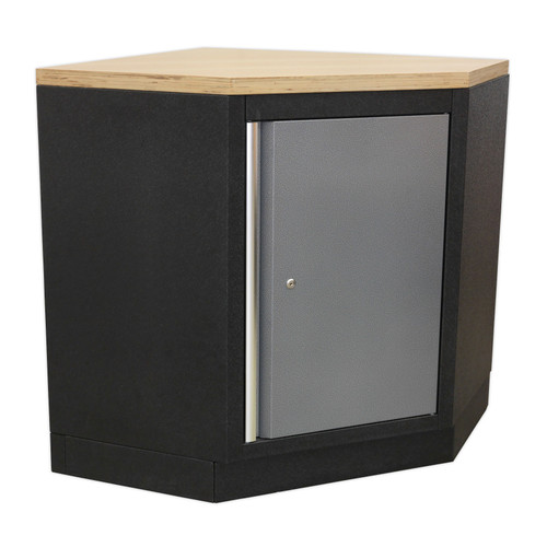 Buy Sealey APMS60 Modular Corner Floor Cabinet 865mm at Toolstop
