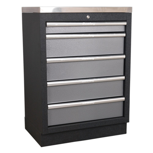 Buy Sealey APMS59 Modular 5 Drawer Cabinet 680mm at Toolstop
