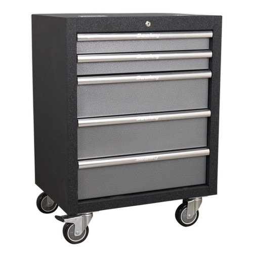 Buy Sealey APMS58 Modular 5 Drawer Mobile Cabinet 650mm at Toolstop