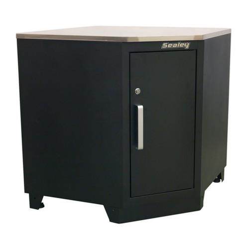 Buy Sealey APMS15 Modular Corner Floor Cabinet 930mm Heavy-Duty at Toolstop