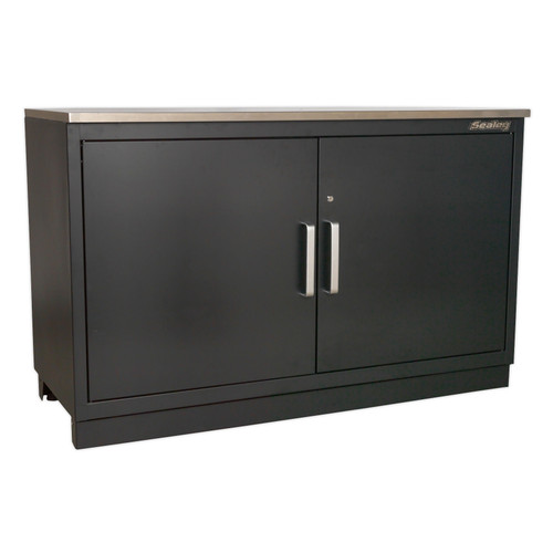 Buy Sealey APMS02 Modular Floor Cabinet 2 Door 1550mm Heavy-Duty at Toolstop