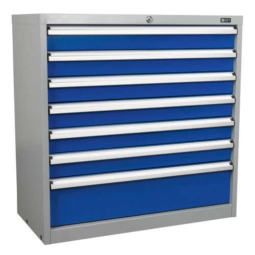 Buy Sealey API9007 Industrial Cabinet 7 Drawer at Toolstop