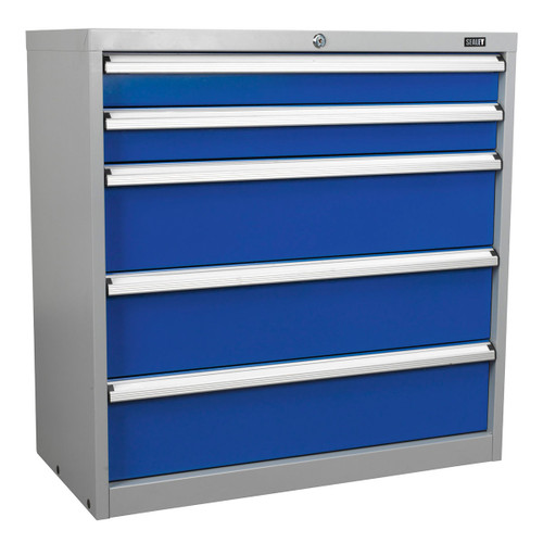 Buy Sealey API9005 Industrial Cabinet 5 Drawer at Toolstop