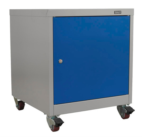 Buy Sealey API5659 Mobile Industrial Cabinet 1 Shelf Locker at Toolstop