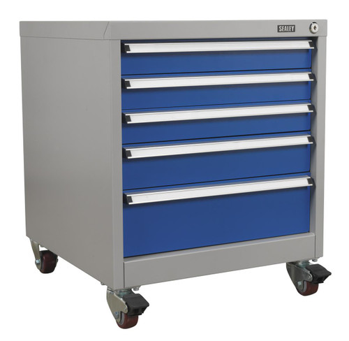 Buy Sealey API5657B Mobile Industrial Cabinet 5 Drawer at Toolstop