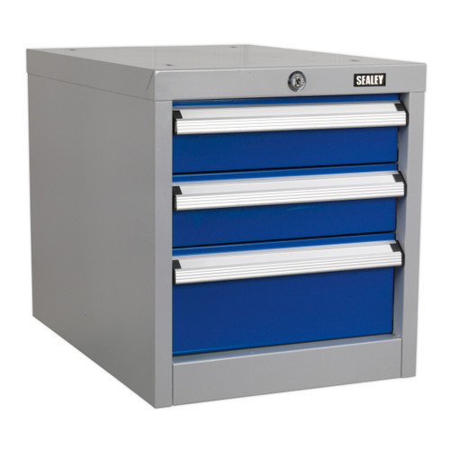 Buy Sealey API16 Industrial Triple Drawer Unit For Api Series Workbenches at Toolstop