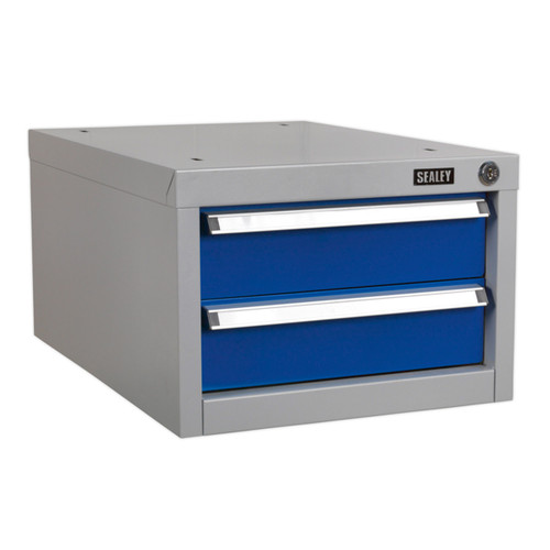 Buy Sealey API15 Double Drawer Unit For Api Series Workbenches at Toolstop