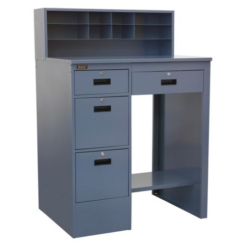 Buy Sealey AP990 Industrial Workstation 4 Drawer (Grey) at Toolstop