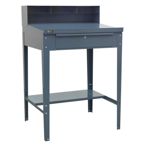 Buy Sealey AP875 Industrial Workstation 1 Drawer (Grey) at Toolstop