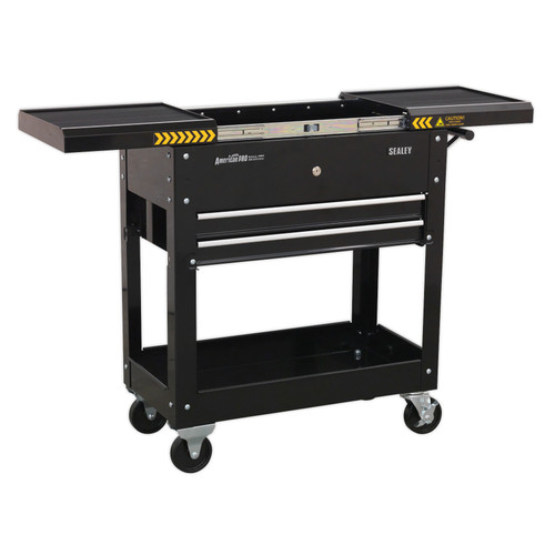 Buy Sealey AP705MB Mobile Tool & Parts Trolley - Black at Toolstop