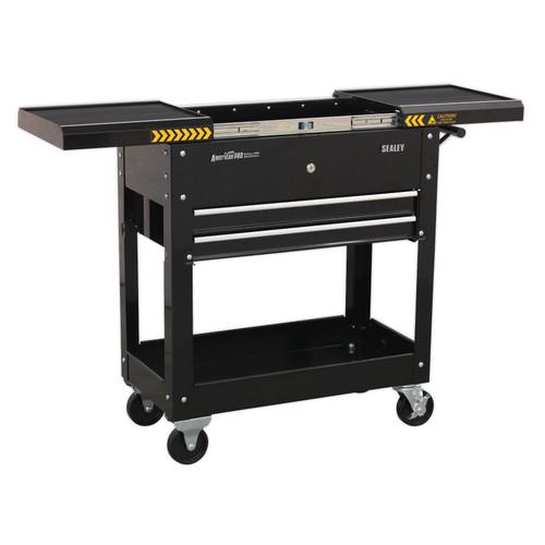 Buy Sealey AP705MB Mobile Tool & Parts Trolley - Black at Toolstop