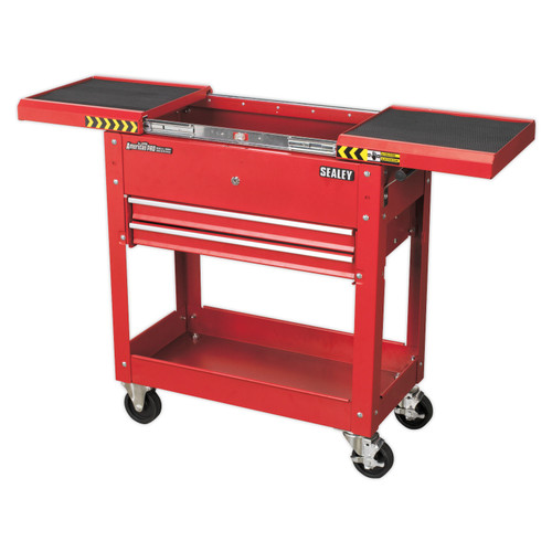 Buy Sealey AP705M Mobile Tool & Parts Trolley - Red at Toolstop