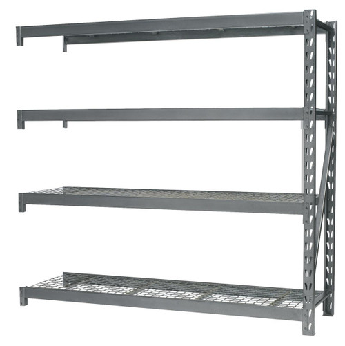 Buy Sealey AP6572E Heavy-duty Racking Extension Pack With 4 Mesh Shelves 800kg Capacity Per Level at Toolstop
