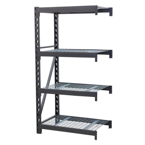 Buy Sealey AP6372E Heavy-Duty Racking Extension Pack With 4 Mesh Shelves 640kg Capacity Per Level at Toolstop