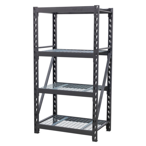 Buy Sealey AP6372 Heavy-duty Racking Unit With 4 Mesh Shelves 640kg Capacity Per Level 978mm at Toolstop