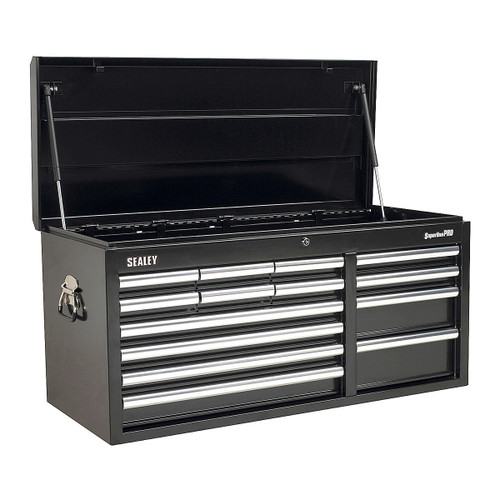 Buy Sealey AP41149B Topchest 14 Drawer With Ball Bearing Runners Heavy-Duty - Black at Toolstop