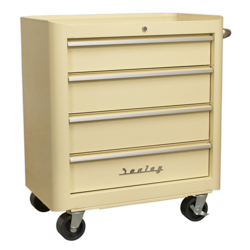 Buy Sealey AP28204 Rollcab 4 Drawer Retro Style at Toolstop
