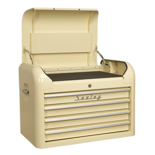 Buy Sealey AP28104 Topchest 4 Drawer Retro Style at Toolstop