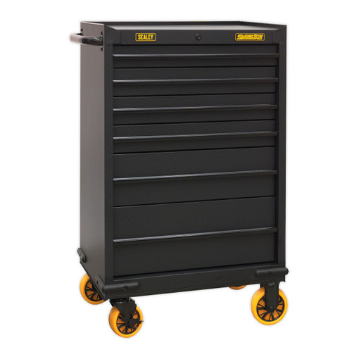 Buy Sealey AP2606CF Rollcab 6 Drawer With Ball Bearing Slides - Carbon Fibre Effect Limited Edition at Toolstop