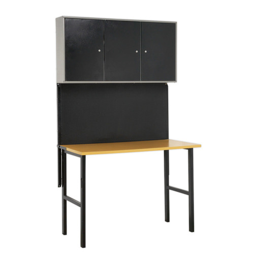 Buy Sealey AP20FWB Foldable Workstation With Cupboards at Toolstop