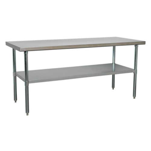 Buy Sealey AP1872SS Stainless Steel Workbench 1.8mtr at Toolstop