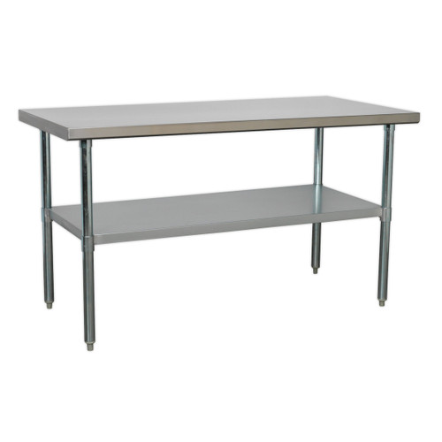 Buy Sealey AP1560SS Stainless Steel Workbench 1.5mtr at Toolstop
