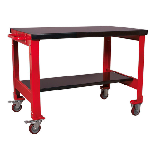 Buy Sealey AP1100M Mobile Workbench 2-Level at Toolstop