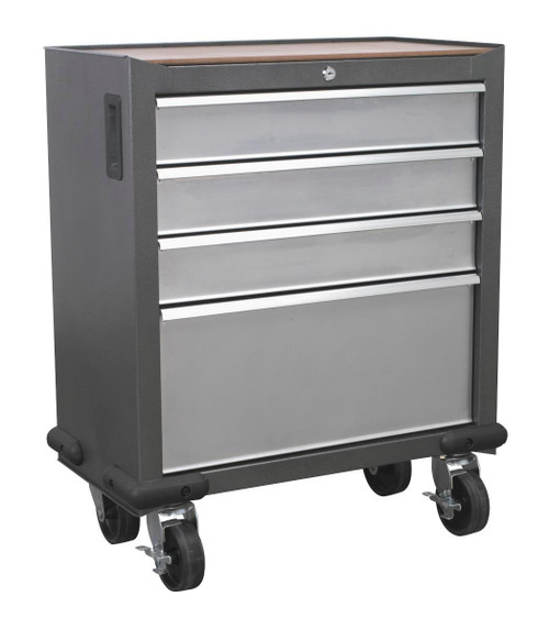 Buy Sealey AP04DFC Mobile Cabinet 4 Drawer at Toolstop