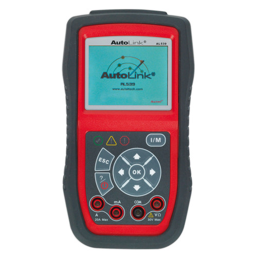 Buy Sealey AL539B Autel EOBD Code Reader - Electrical & Battery Tester at Toolstop