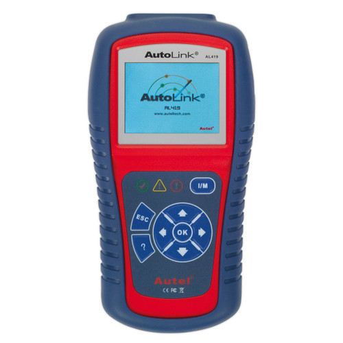 Buy Sealey AL419 Autel Eobd Code Reader - Live Data, Tech Tips at Toolstop