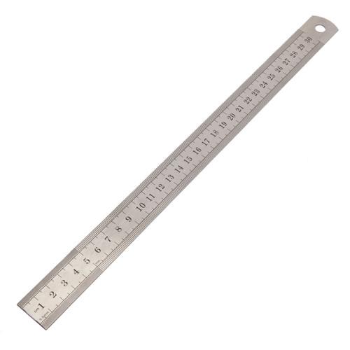 """Buy Sealey AK9641 Steel Rule 300mm/12"""" at Toolstop"""