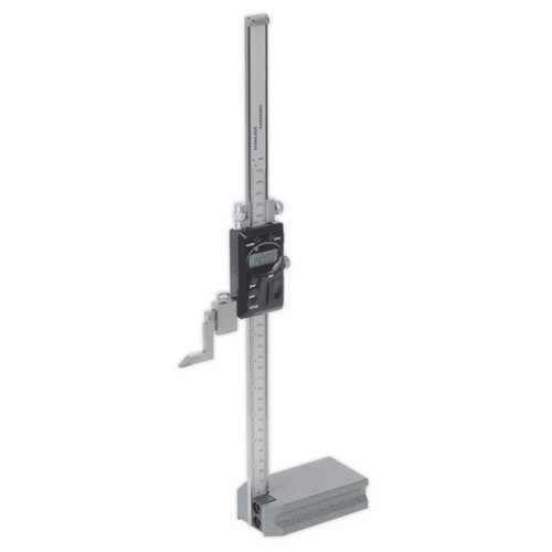 Buy Sealey AK9636D Digital Height Gauge 0-12in / 0-300mm at Toolstop