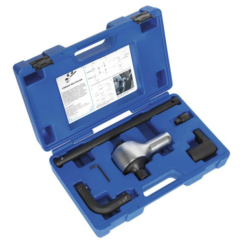 Buy Sealey AK6290 Torque Multiplier Set 1/2 - 3/4in Sq Drive (7 Piece) at Toolstop