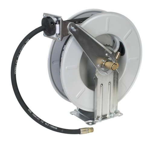 Buy Sealey AK4567D Oil Hose Reel Retractable 10mtr at Toolstop