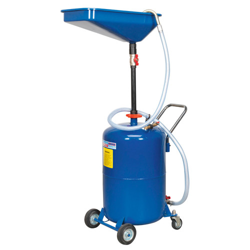 Buy Sealey AK451DX Waste Oil Drainer 65 Litre Air Discharge at Toolstop