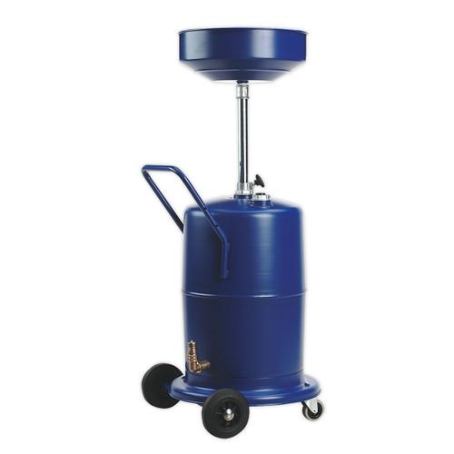 Buy Sealey AK450DX Mobile Oil Drainer 75ltr Pump Away at Toolstop