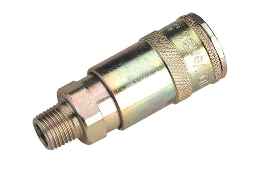 """Buy Sealey AC16BP Coupling Body Male 1/4""""bspt Pack Of 50 at Toolstop"""