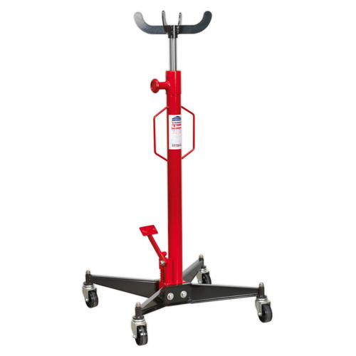 Buy Sealey 500ETJ Transmission Jack 0.5tonne Vertical at Toolstop