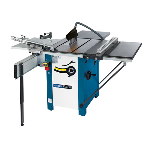 Scheppach Precisa 3.0 - P1 10 Inch Sawbench package with 2.0 STC + TLE + Folding TWE 240V - 1