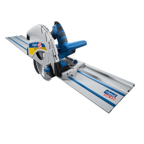 Scheppach PL75-P1 210mm Plunge Saw + 1400mm Guide Rail 240V - 4