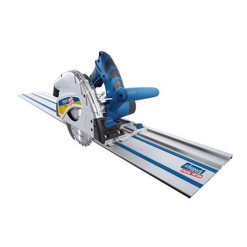 Buy Scheppach PL55-P2 160mm Plunge Saw Set + 2 x 1400mm Guide Rails 240V at Toolstop