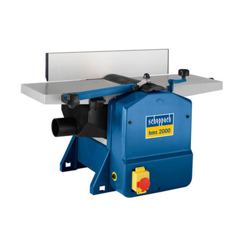 Buy Scheppach HMS2000 204mm Planer Thicknesser + Pro Guide Fence 240V at Toolstop