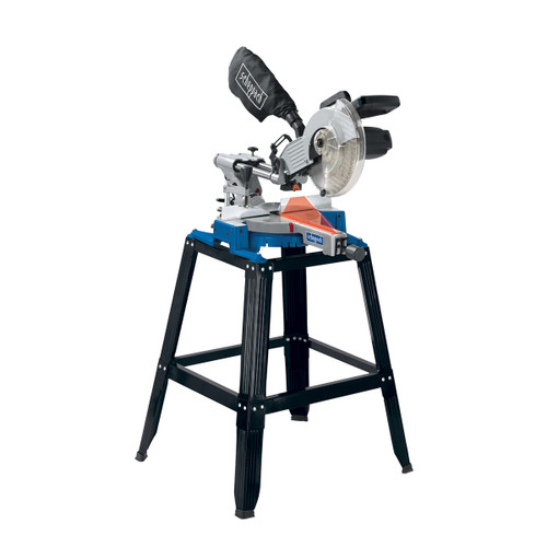 Buy Scheppach HM100LU 254mm Sliding Mitre Saw + Leg Stand 240V at Toolstop