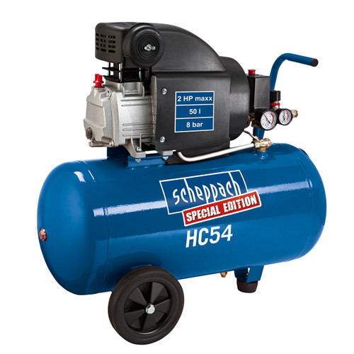 Scheppach HC54 Compressor 50 Litre x 2.0 HP 240V - 1